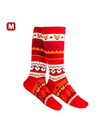 Socks-Knitted Thickened Winter Cartoon Cotton Socks Sports Socks Mid Tube Socks by RED-EYE