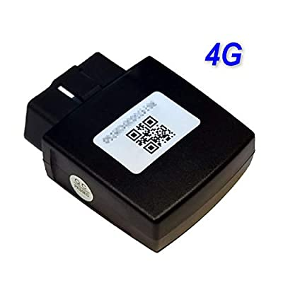 Accutracking VTPlug TK374 4G Real Time Online GPS OBD II Vehicle Tracker: GPS & Navigation