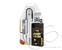 IK Multimedia AmpliTube iRig guitar interface adaptor for iOS devices