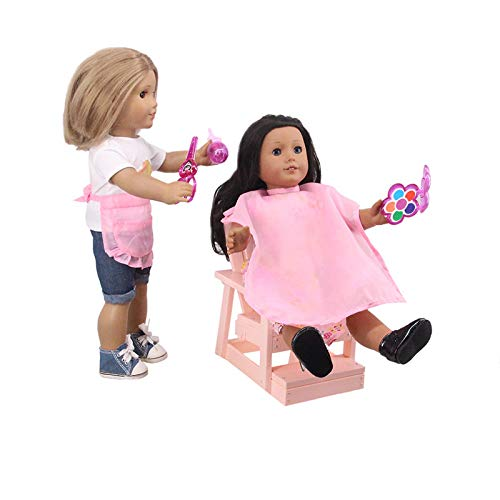 Luckdoll 5 Doll Makeup Kit Set Hairdressing Clothes for 12 - 18 Inch American Girl Dolls Boy -