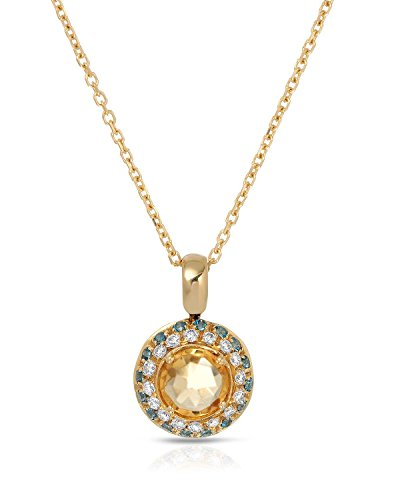 Citrine Gold Tourmaline Necklace - 5
