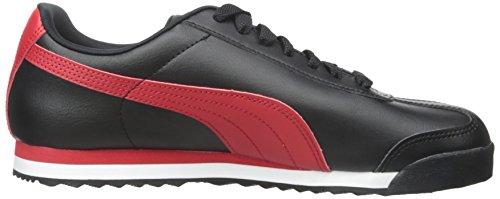 Puma Mens Roma Basic Fs Schoenen Zwart / Hoog Risico Rood