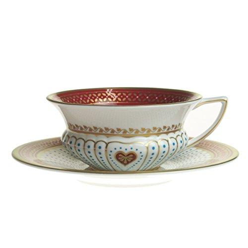 Wedgwood ( Wedgwood ) Harlequin tea - cup u0026 saucer Heart [ parallel import goods ] ()