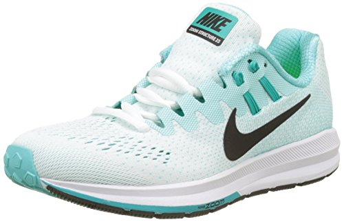 20 Women's White Shoes Green NIKE WMNS Clear Structure Aurora Black Turquoise Running Igloo Zoom Air Jade TXAqXw