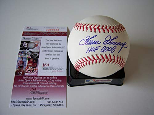 Goose Gossage New York Yankees HOF 2008 JSA Autographed Signed MLB Baseball - Certified Authentic
