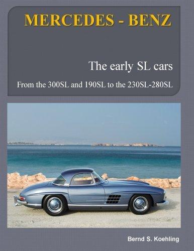 MERCEDES-BENZ, The early Mercedes SL cars: W121, W198, W113