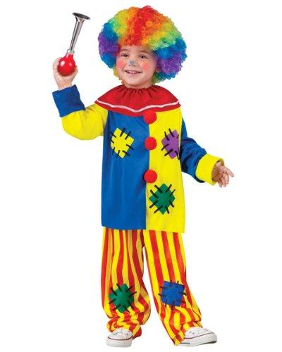Big Top Clown Costume - Toddler Small (Big Top Clown Costume)