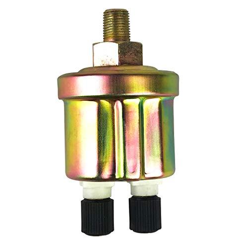 You May 1/8 NPT 80x40mm Engine Oil Pressure Sensor Gauge Sender Switch Sending Unit 0-1.0Mpa Car Pressure ()