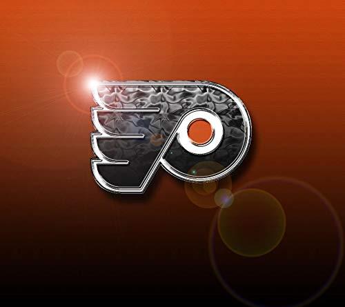 The Philadelphia Flyers Logo Sports Professional Ice Hockey Team NHL Edible Cake Topper Image ABPID09124 - 1/4 sheet