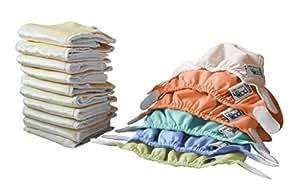 Close Parent Pop In - Pack de pañales para recién nacidos en colores pastel