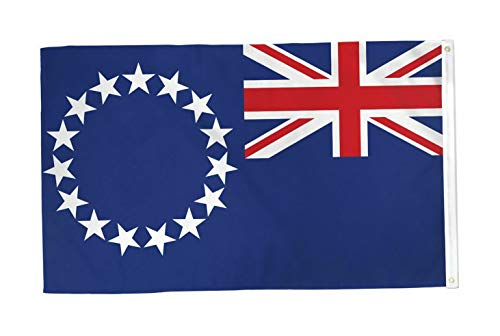 Kaputar 3x5 Cook Islands Flag Country Banner New Indoor Outdoor | Model FLG - 6998