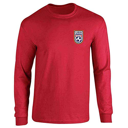 USA Soccer Retro National Team Jersey Red XL Long Sleeve -