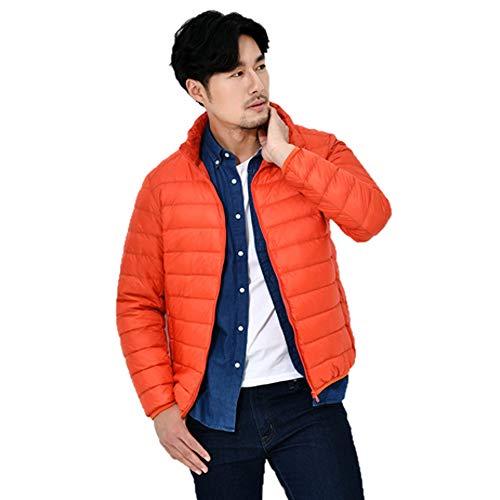 HARRYSTORE Down Water Orange Men's Jacket Packable Puffer Sportswear Jacket Resistant Packable Lightweight rXrpwF