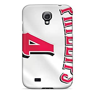Protector Hard Cell-phone Case For Samsung Galaxy S4 With Unique Design Attractive Cincinnati Reds Series JohnPrimeauMaurice