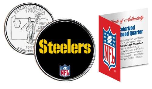 (PITTSBURGH STEELERS NFL Pennsylvania U.S. State Quarter U.S. Coin *Licensed)