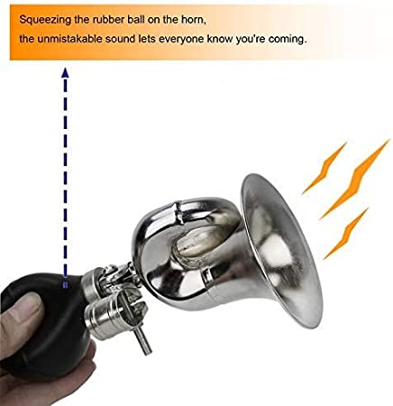 Horn Bicycle XL Police Ball Horn Fanfare Tröte BICYCLE HORN KIDS HORN
