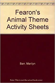 Fearon's Animal Theme Activity Sheets