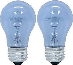 GE Lighting 48706 40-Watt Reveal A15 Appliance Bulb, 4 Pack