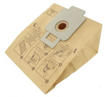Vacuum Bags: Goblin Pack of 5 Goblin Aztec 340 Series vacuum cleaner : 1200, 1300, 1400, 1400E, 1607E, 34000, 34230, 34433, 34535 1607F, 3405001, 3425101 1305, 3455001 1405, 3456001 15 by Homespare