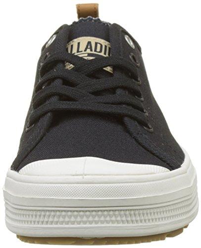 Lily Sub Palladium Black Uomo I49 Sneaker Canvas Nero White Low 0Udrwq0