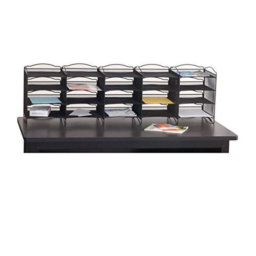 Scranton & Co Mail Sorter in Black