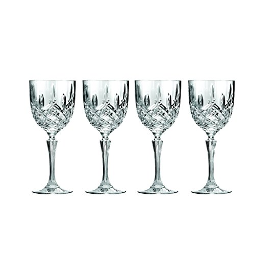 Marquis by Waterford Markham Goblet, Set of 4 (Crystal Wine Glasses)