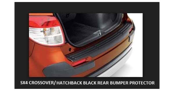 2007 - 2013 SUZUKI SX4 Hatchback/cruce de parachoques trasero protector 990b0 - 33009-blk: Amazon.es: Coche y moto