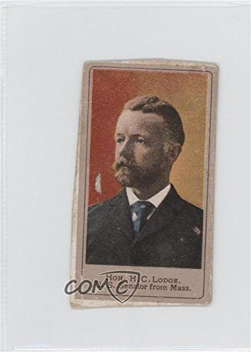 H. C. Lodge COMC REVIEWED Poor to Fair (Trading Card) 1901 Sweet Caporal Heroes of the Spanish War - Tobacco T175 #HCLO