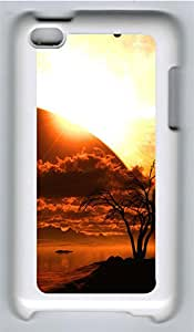 iPod 4 Cases & Covers - Space Tree Custom PC Soft Case Cover Protector for iPod 4 - White