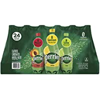 24-Pack Perrier Carbonated Assorted Flavors Mineral Water, 16.9 fl. oz