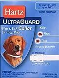 Ultraguard Flea and Tick Large Dog Collar 26' - White