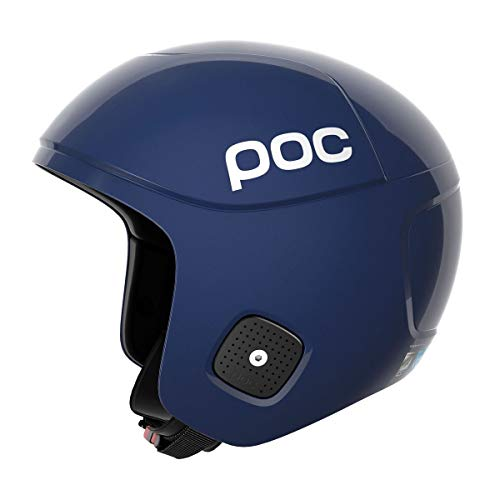 POC Sports Skull Orbic X SPIN Helmet-Lead Blue-Medium