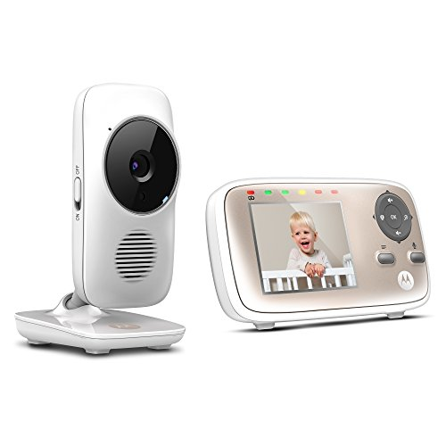 motorola mbp667connect digital video baby monitor with wi fi 2 8 inch color screen digital. Black Bedroom Furniture Sets. Home Design Ideas