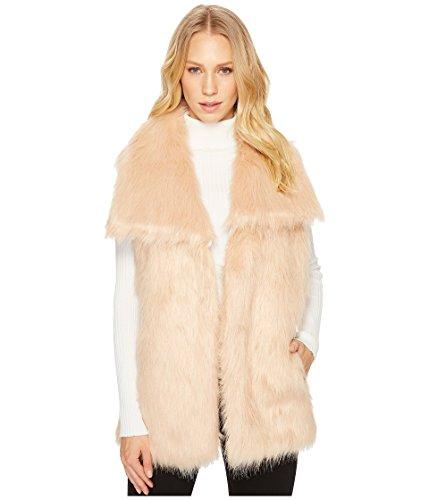 薬用スモッグピカソヴィアスピガ アウター コート Faux Fur Vest Blush [並行輸入品]