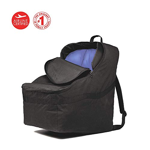 J.L. Childress Ultimate Backpack Padded Car Seat Travel Bag, Black - Hands Free Car Seat Carrier