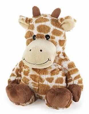 Cozy Giraffe - GIRAFFE - WARMIES Cozy Plush Heatable Lavender Scented Stuffed Animal