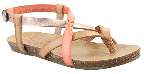 Girl's Blowfish Kids, Granola Braid Sandal Metallic Mult 5 M