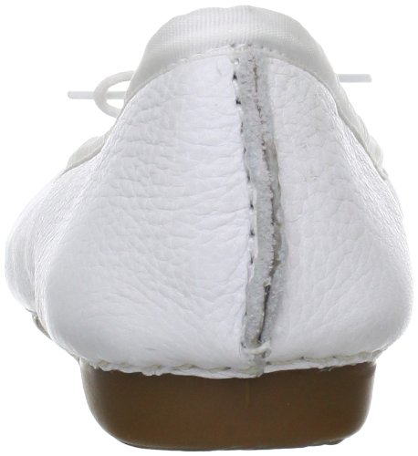 Clarks Freckle Ice 20354455 - Bailarinas para mujer Blanco