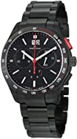 Maurice Lacroix Miros Chronograph Black Dial Black PVD Mens Watch MI1028-SS002330 by Maurice Lacroix