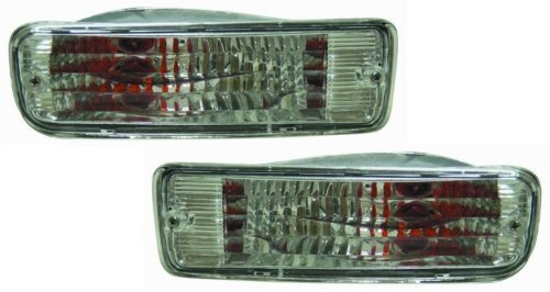 Toyota 4Runner Replacement Turn Signal Light Assembly (Diamond Design) - 1-Pair AutoLightsBulbs