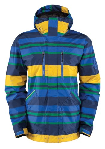 (Bonfire Men's Trapper Govy Jacket - 326318 - True Blue, Large)
