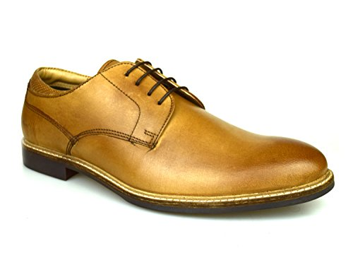 Red Tape Broxton Braun Leder Herren Oxford schuhe
