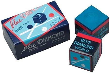 Longoni Tiza de Billar Blue Diamond 2 Piezas: Amazon.es: Deportes y aire libre
