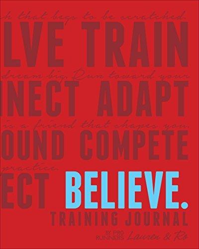Believe Training Journal (Classic Red) by Lauren Fleshman - Lauren Fleshman