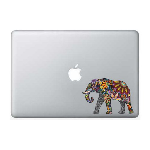 Colorful Elephant Apple Macbook Laptop product image
