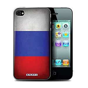 STUFF4 Phone Case / Cover for Apple iPhone 4/4S / Russia/Russian Design / Flags Collection