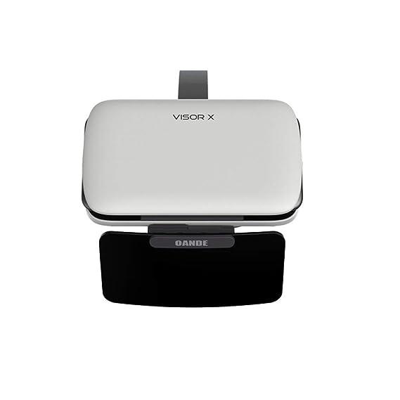 4f2e0addaae OANDE Upgrade Movie Game Headset Viewer HD Smartphone Screen Glasses FOV 69°  Multi-Scene