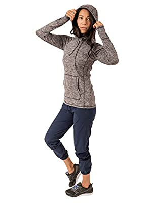 RBX Active Women's Long Sleeve Yoga Workout Fashion Pullover Hoodie