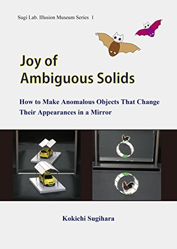 Joy of Ambiguous Solids: How to Make Anomalous Objects That Change Their Appearances in a Mirror (Sugi Lab. Illusion Museum Series Book 1)