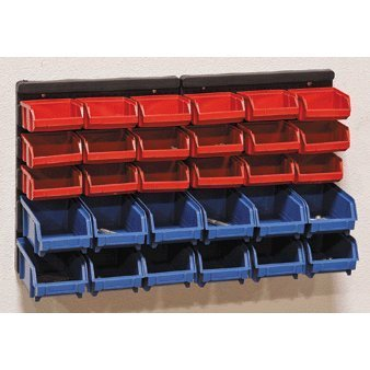 Delicieux 30 Wall Mounted Small Parts Storage Bins